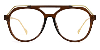 2151 Annabal Aviator brown glasses
