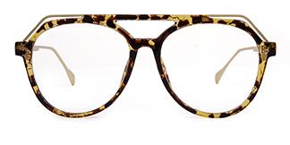 2151 Annabal Aviator tortoiseshell glasses