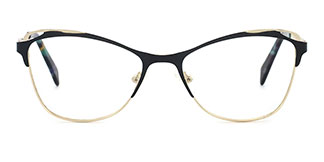 2167 Aderes Cateye black glasses