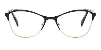 2167 Aderes Cateye black glasses