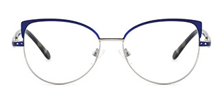 2171 Adey Cateye red glasses