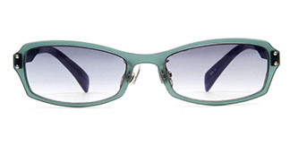 22004 Eudora Rectangle blue glasses
