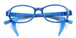 2203 Fonda Rectangle blue glasses