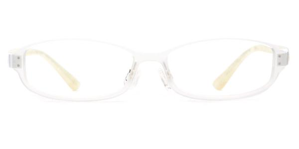 22079 Chris Rectangle silver glasses