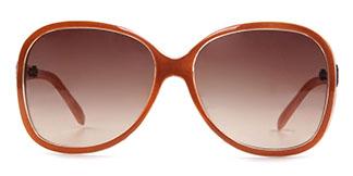 2221 Nancy Rectangle orange glasses