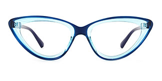 22211 Adara Cateye pink glasses