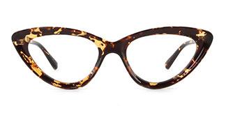 22211 Adara Cateye tortoiseshell glasses