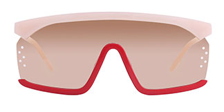 22246 Tshima Aviator yellow glasses