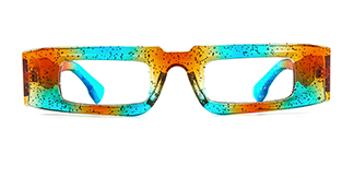 22351 Dara Rectangle multicolor glasses