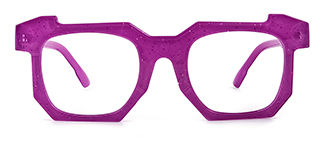 2236-1 Eve Geometric purple glasses