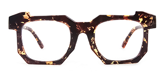 2236-1 Eve Geometric tortoiseshell glasses