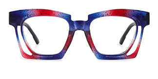 2237 Dalia Rectangle multicolor glasses