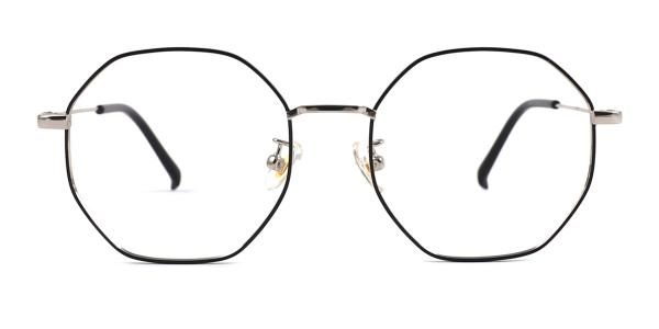 22813 Denise Geometric gold glasses