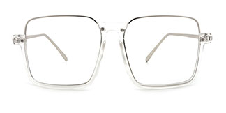 24011 Yehudi Rectangle clear glasses