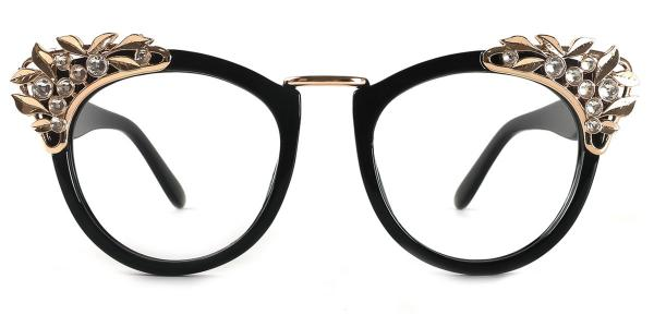 24651 Delia Cateye tortoiseshell glasses