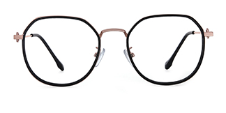 2478 Angelita Geometric green glasses
