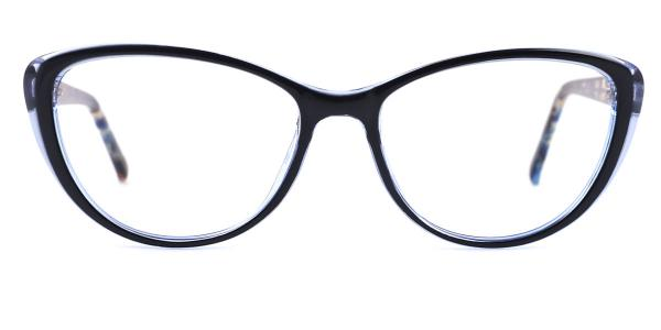 2489 Jodi Cateye blue glasses