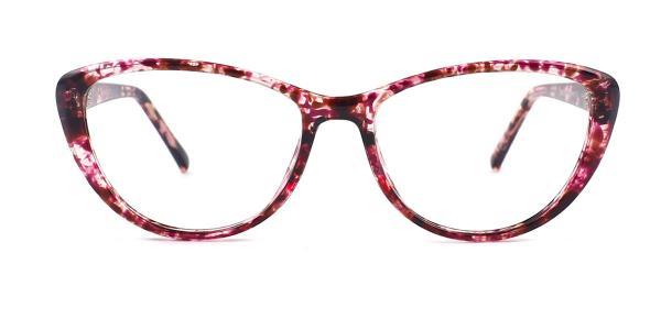 2489 Jodi Cateye red glasses