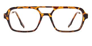 25413 jennyjennie Aviator tortoiseshell glasses