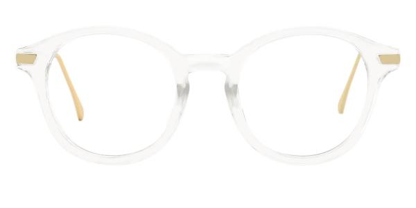 2601 Candice Oval clear glasses
