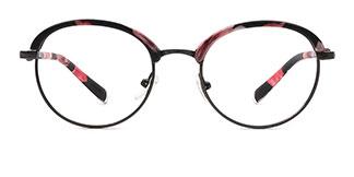 2607 Gaylene Oval floral glasses