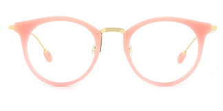 2648 Ibbie Oval pink glasses