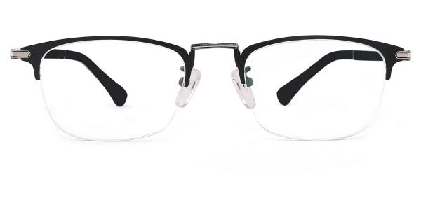 2686 Felix Rectangle black glasses