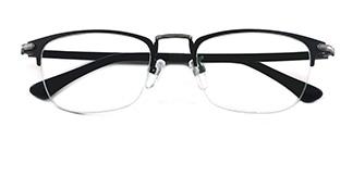 2686 Felix Oval black glasses