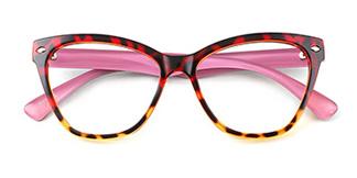 283625 Oslo Butterfly multicolor glasses