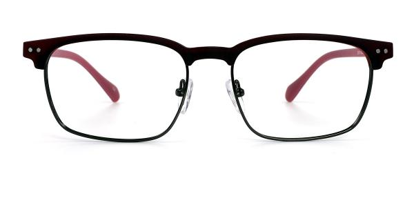 2910 Reta Rectangle pink glasses