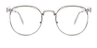2925-1 Laverne Oval clear glasses