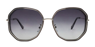 29601 Cael Geometric grey glasses