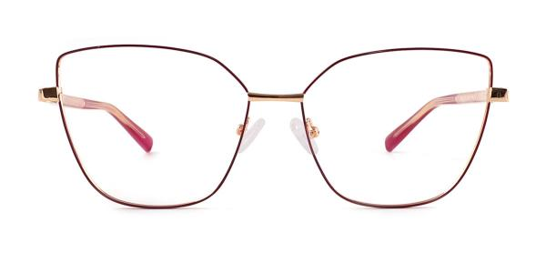 3002 Gwendolyn Cateye red glasses