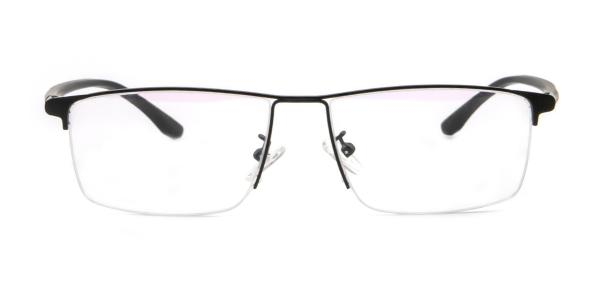 30081 Carl Rectangle black glasses