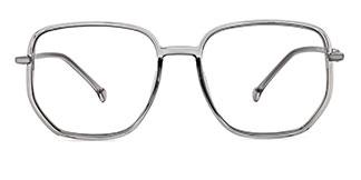 30102 Maya Geometric grey glasses