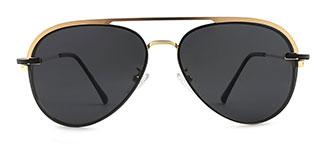 30251 Aphra Aviator gold glasses