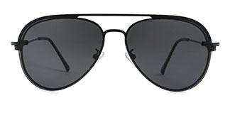 30251 Aphra Aviator black glasses
