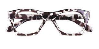 3047 julie Rectangle tortoiseshell glasses