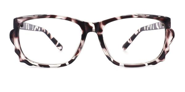 30511 Denny Rectangle tortoiseshell glasses