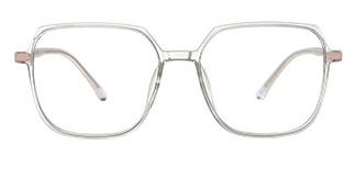 31053 Joanne Rectangle clear glasses