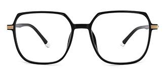 31053 Joanne Rectangle black glasses