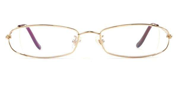 3111 Wilkie Rectangle gold glasses