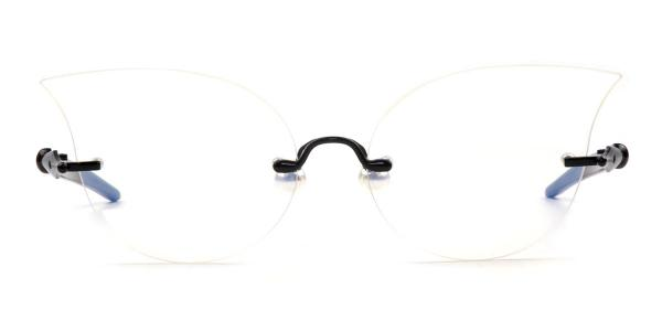 31182 Oliver Cateye black glasses