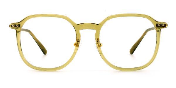 32057 Marjorie Geometric green glasses