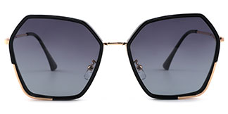 3300 Rafael Geometric black glasses
