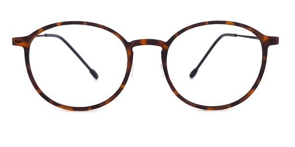 3301 Silverdew Oval tortoiseshell glasses