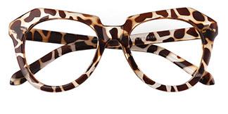 3327 Bliss Oval tortoiseshell glasses