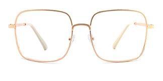 33312 Padraigin Rectangle gold glasses
