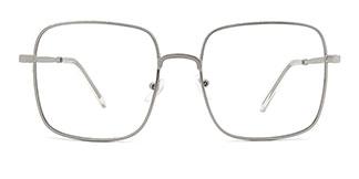 33312 Padraigin Rectangle silver glasses