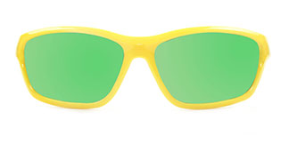 3389 Vaguel Rectangle yellow glasses